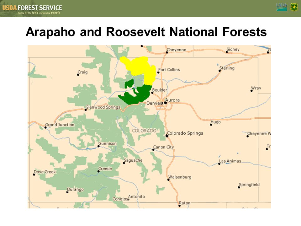 Best Arapaho National Forest Map Pictures - Printable Map - New ...