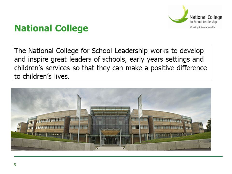 National College Scope