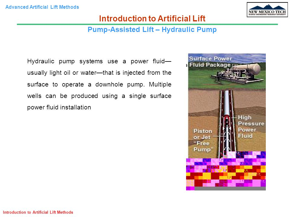 Advanced Artificial Lift Methods – PE 571 Introduction - ppt