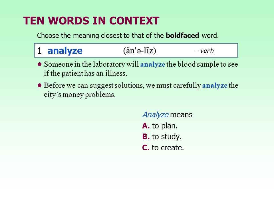 Groundwork for a better vocabulary ppt video online download.