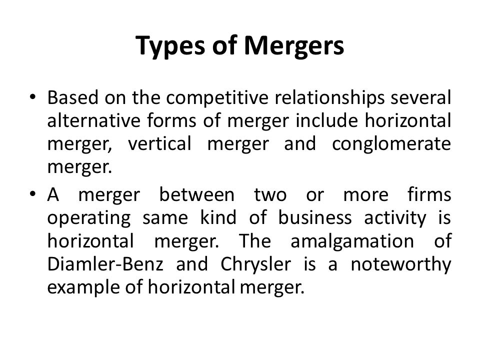 Issues Of Merger And Acquisition With Special Reference To