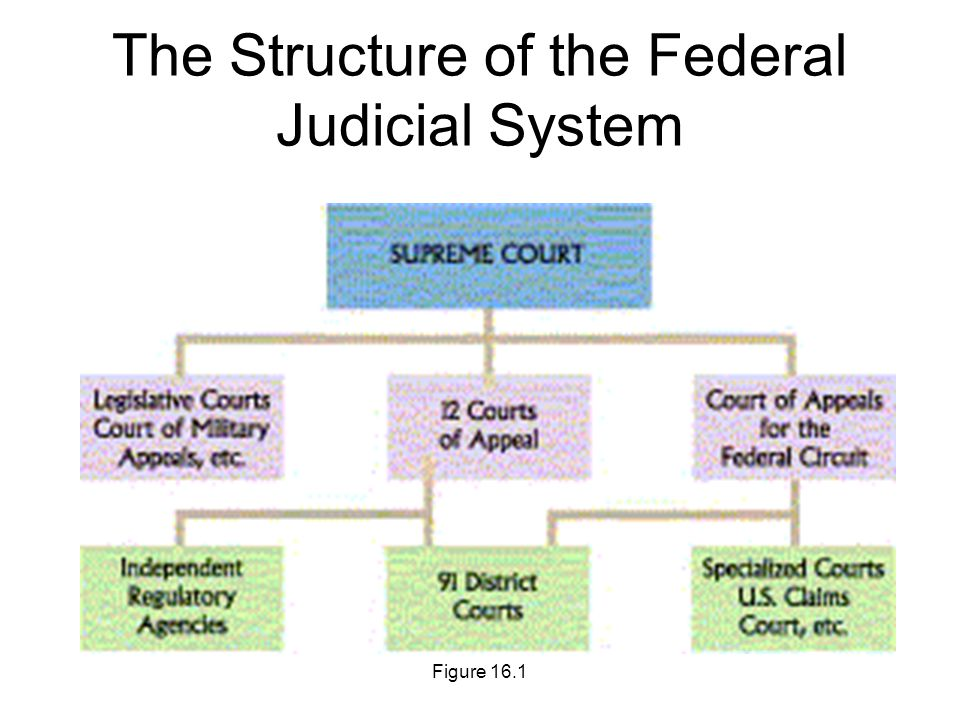 The Structure Of Federal Judicial System
