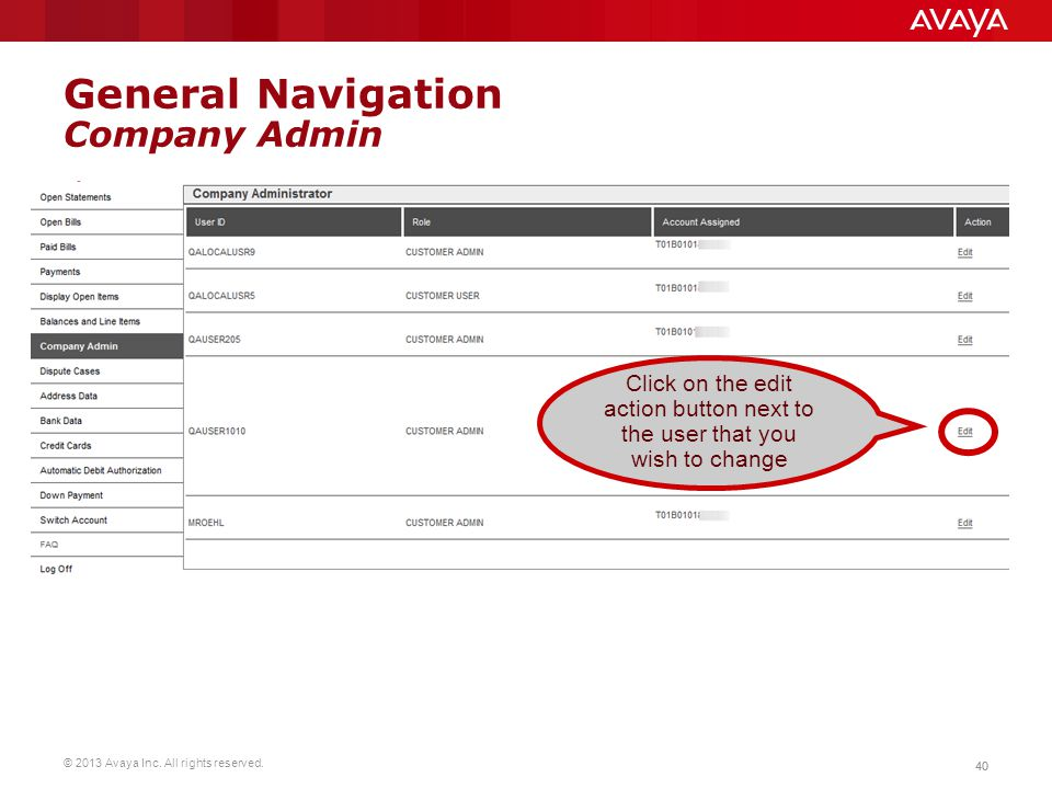 General Navigation Company Admin