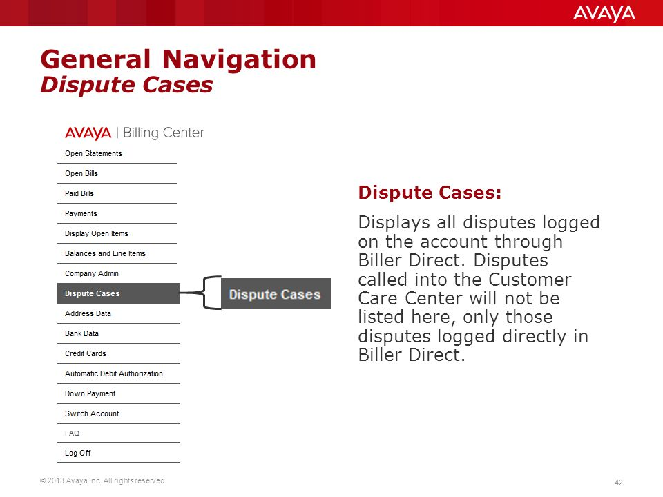 General Navigation Dispute Cases