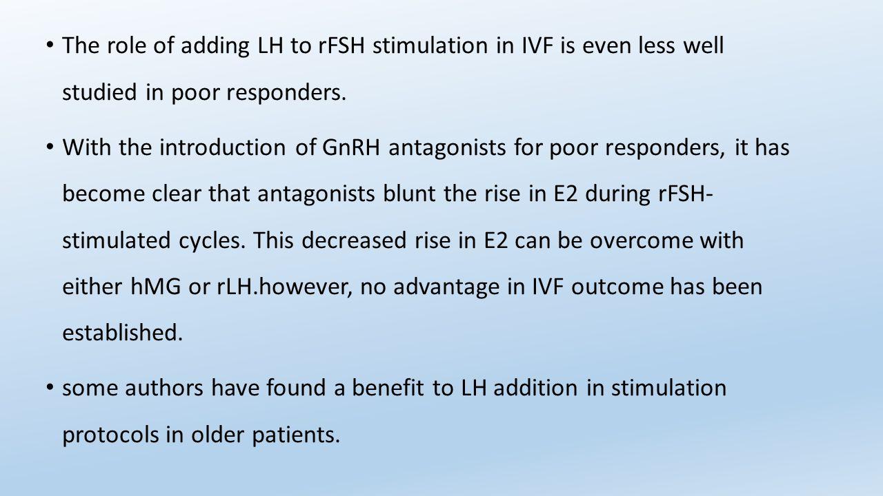 Managing poor responders in IVF - ppt download