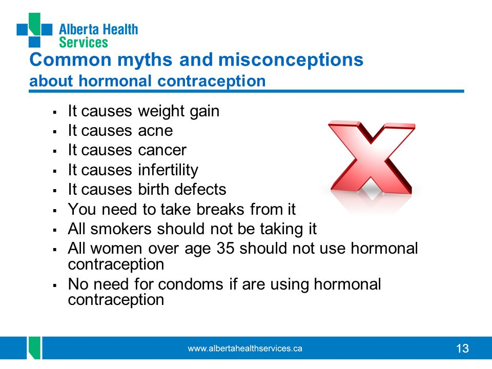 Common myths and misconceptions about hormonal contraception