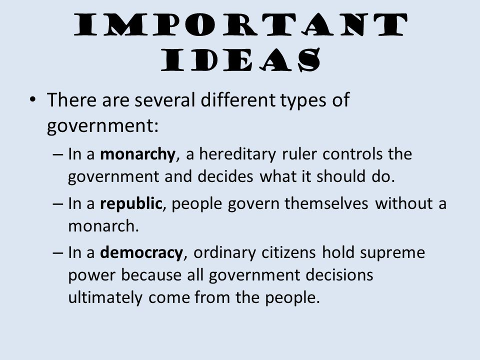 Types Of Government SE 14B Compare How Democracy Dictatorship
