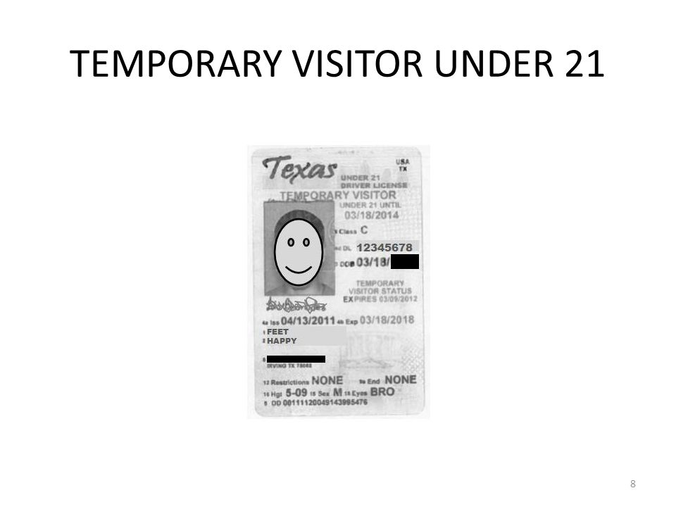 texas drivers license restriction g violation