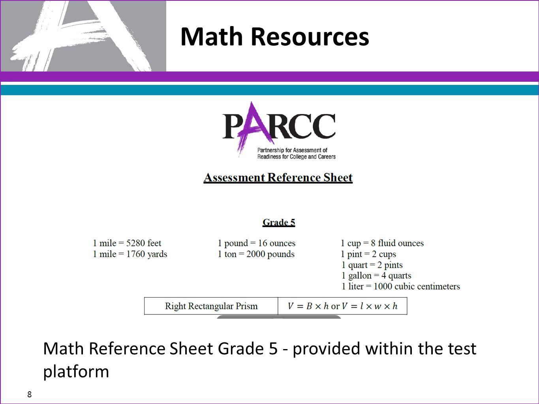 AIR (Science & Social Studies) and PARCC (ELA & Math) - ppt download