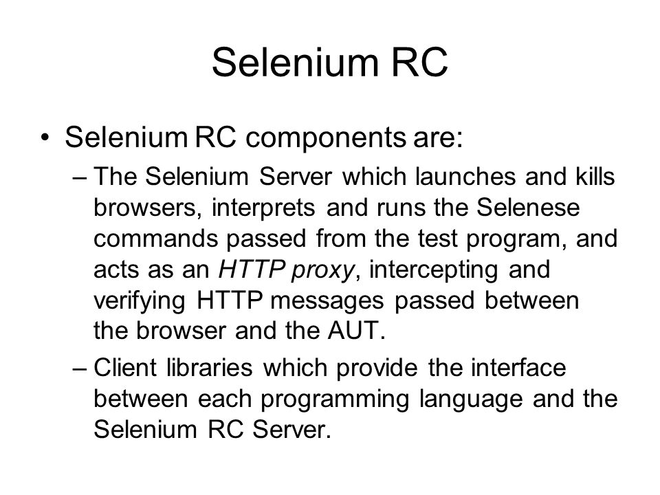 Test Automation Tools: QF-Test and Selenium - ppt video
