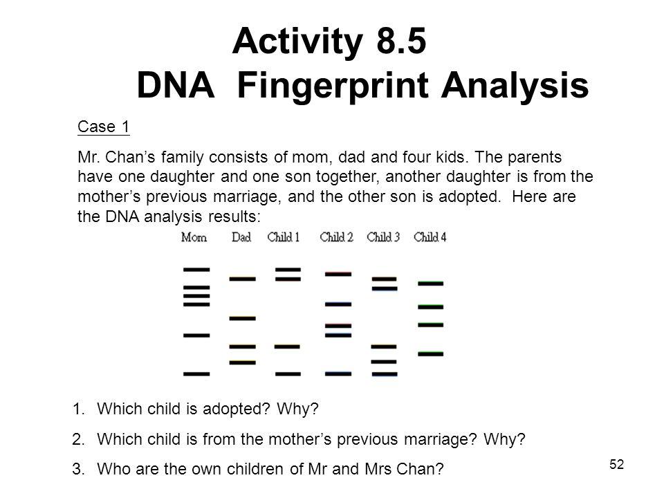 Lesson 8 Dna Fingerprinting Ppt Video Online Download