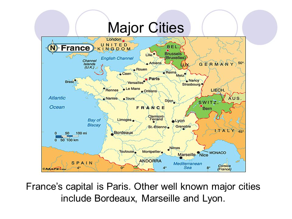 Map Of Major Cities In France.Tuloso Midway High School Ppt Download