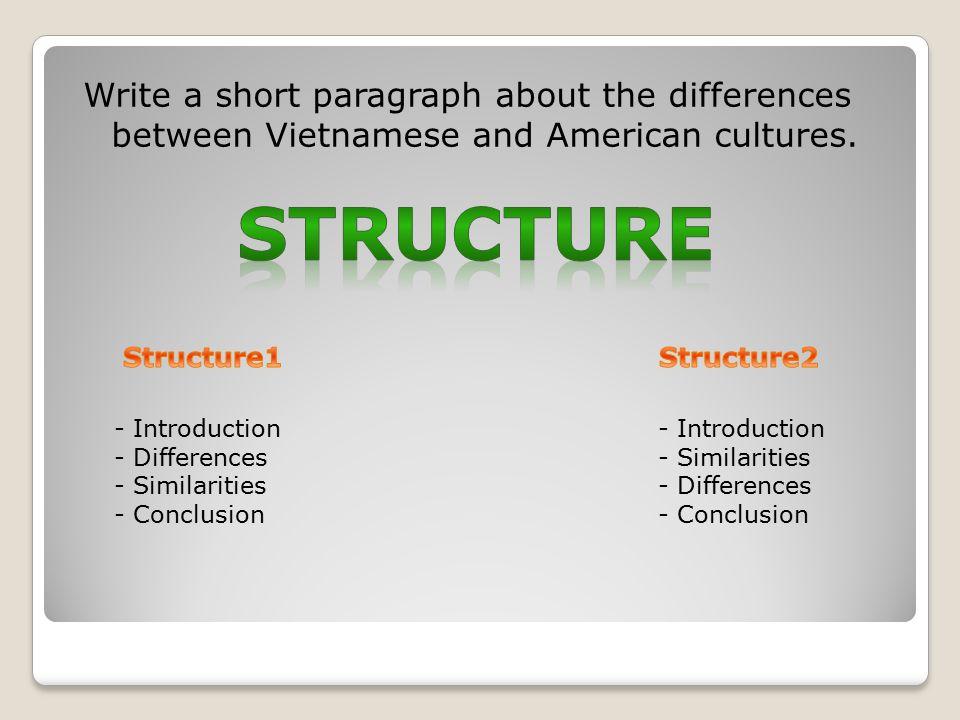 short paragraph on culture