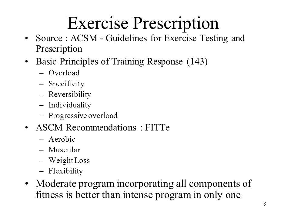 exercise prescription cardio ppt video online download rh slideplayer com ACSM CVD Risk Factors Table ACSM Exercise Prescription Book