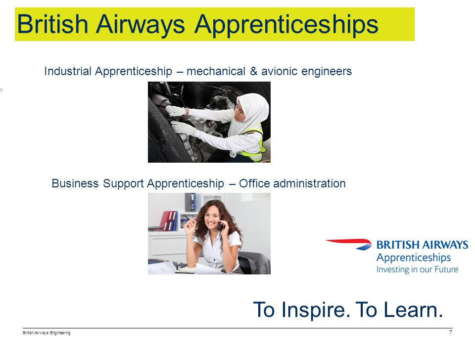 British Airways Apprenticeships