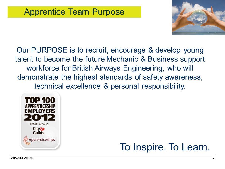 Apprentice Team Purpose