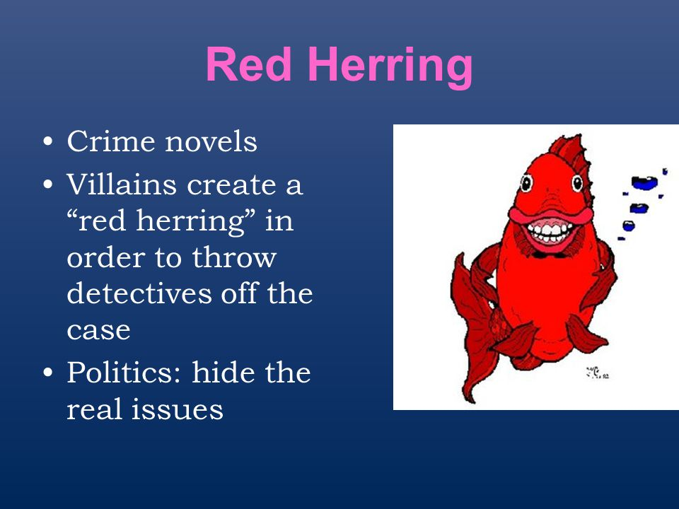 Red Herring Crime novels