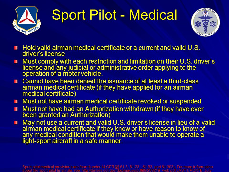 Ask The Aviation Medical Examiner Ppt Download