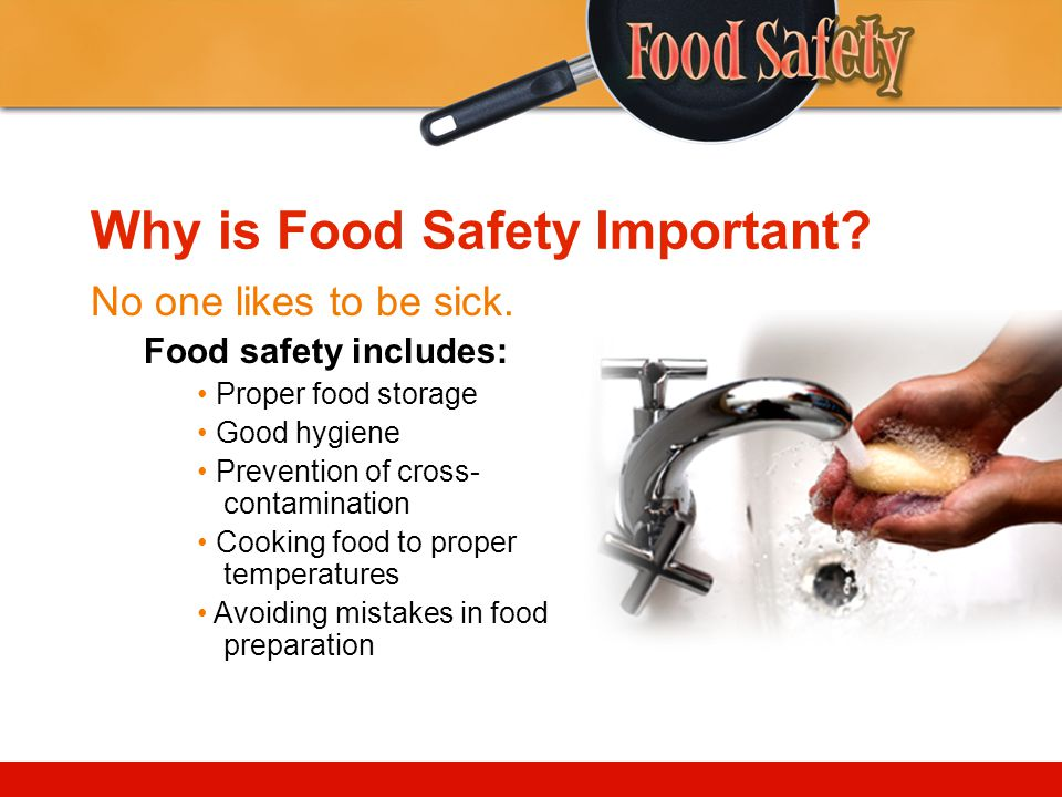 Why is Food Safety Important