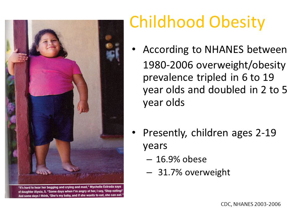 The Obesity Epidemic An Overview Ppt Download
