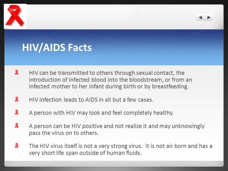 HIV/AIDS Facts