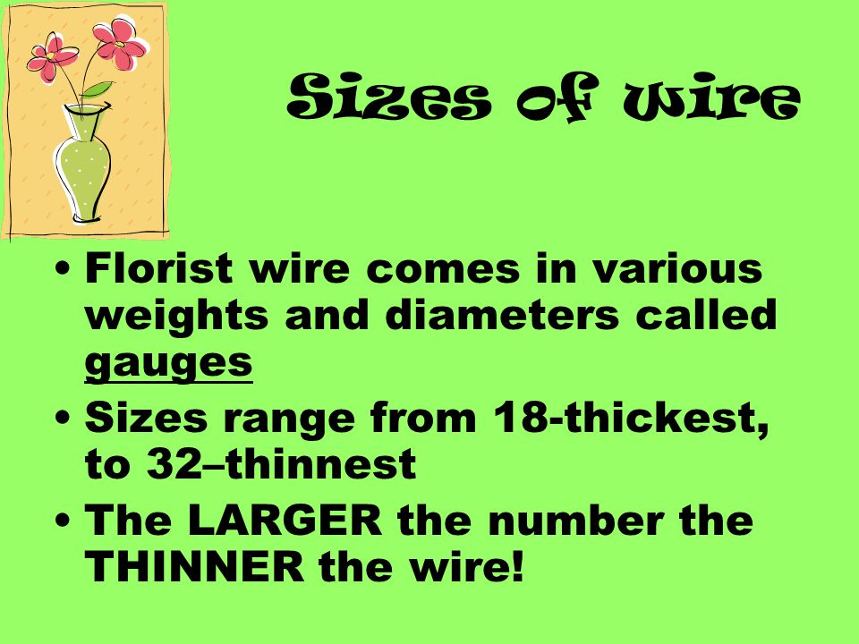 Selection of Wire and Wiring Techniques - ppt video online download