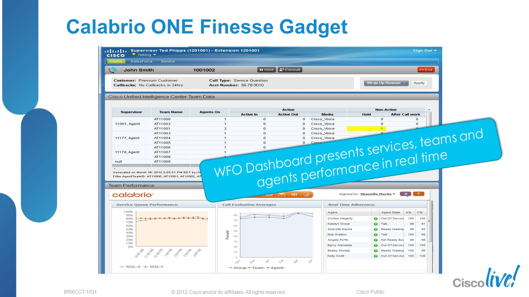 Cisco Finesse Overview and Roadmap CDN Developer Forum - ppt