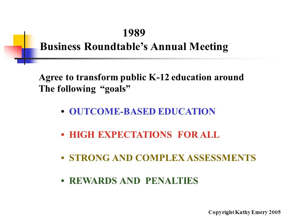 Business Roundtable's Annual Meeting