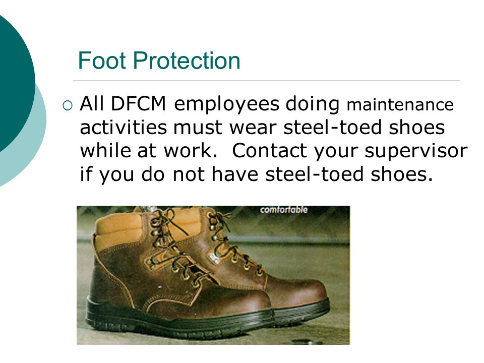 Foot Protection