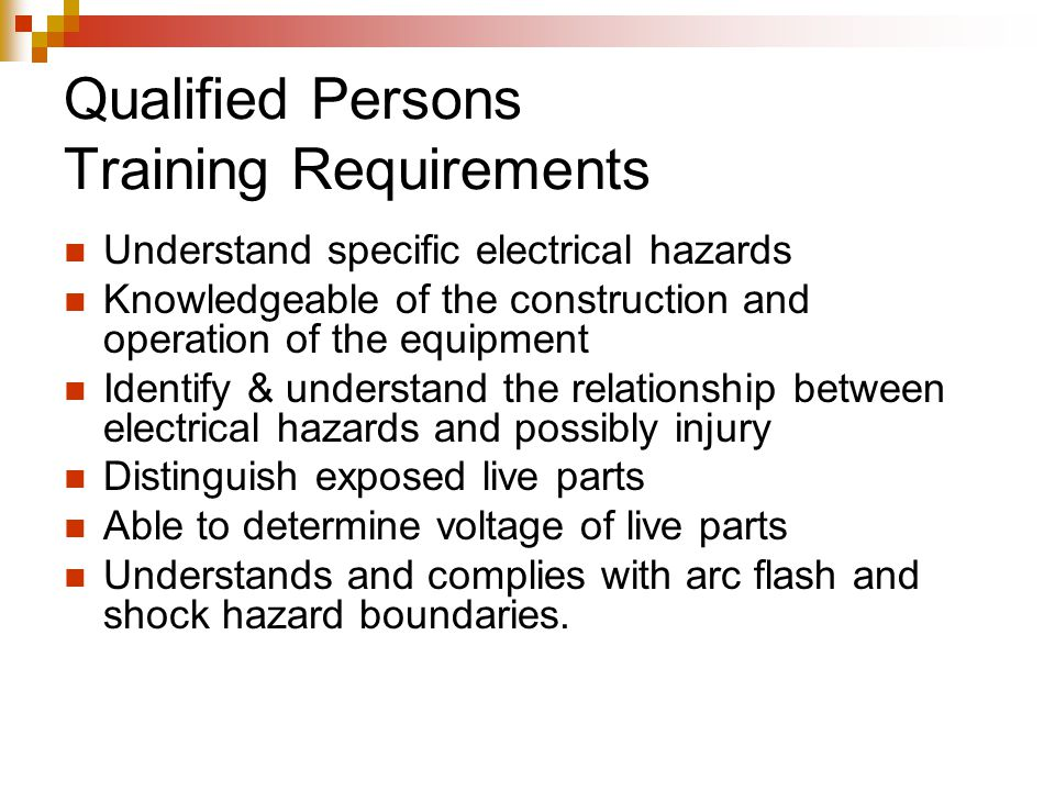 Implementing NFPA 70E Electrical Safety Standards - ppt video online ...