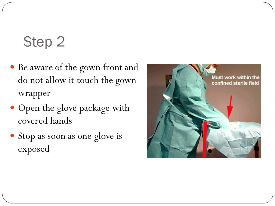 Entering the Sterile Field: Scrubbing, Gowning, and Gloving - ppt ...