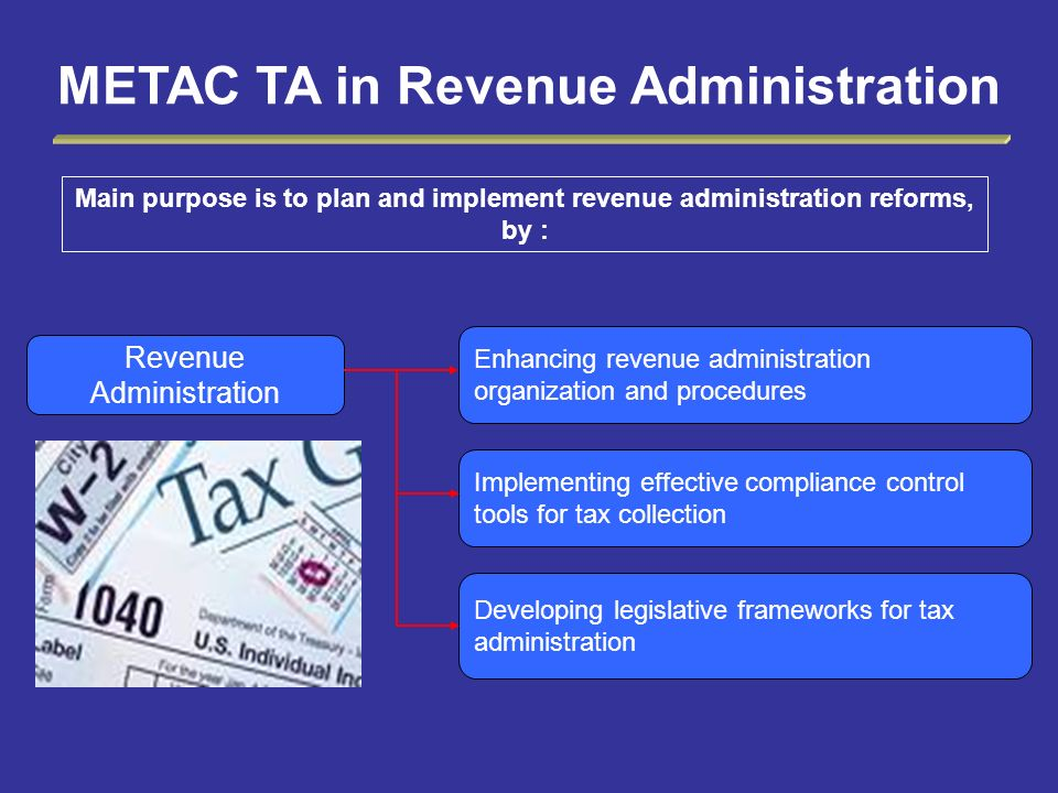 METAC TA in Revenue Administration