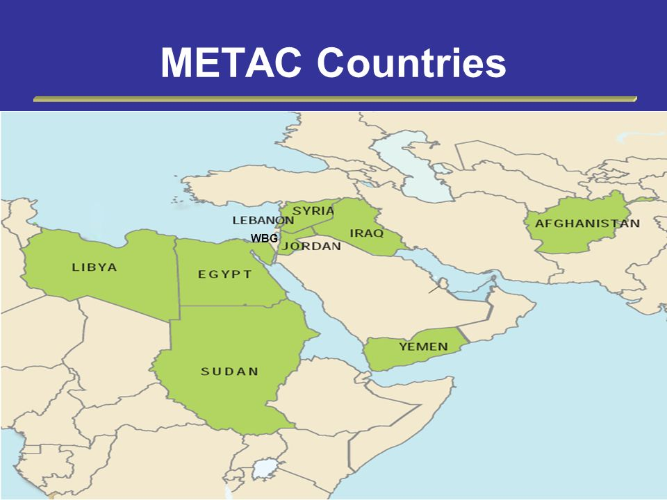 METAC Countries WBG