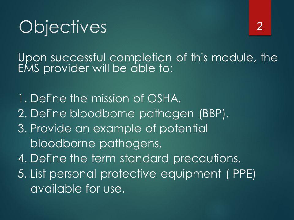 bloodborne pathogens (bbp) - ppt download