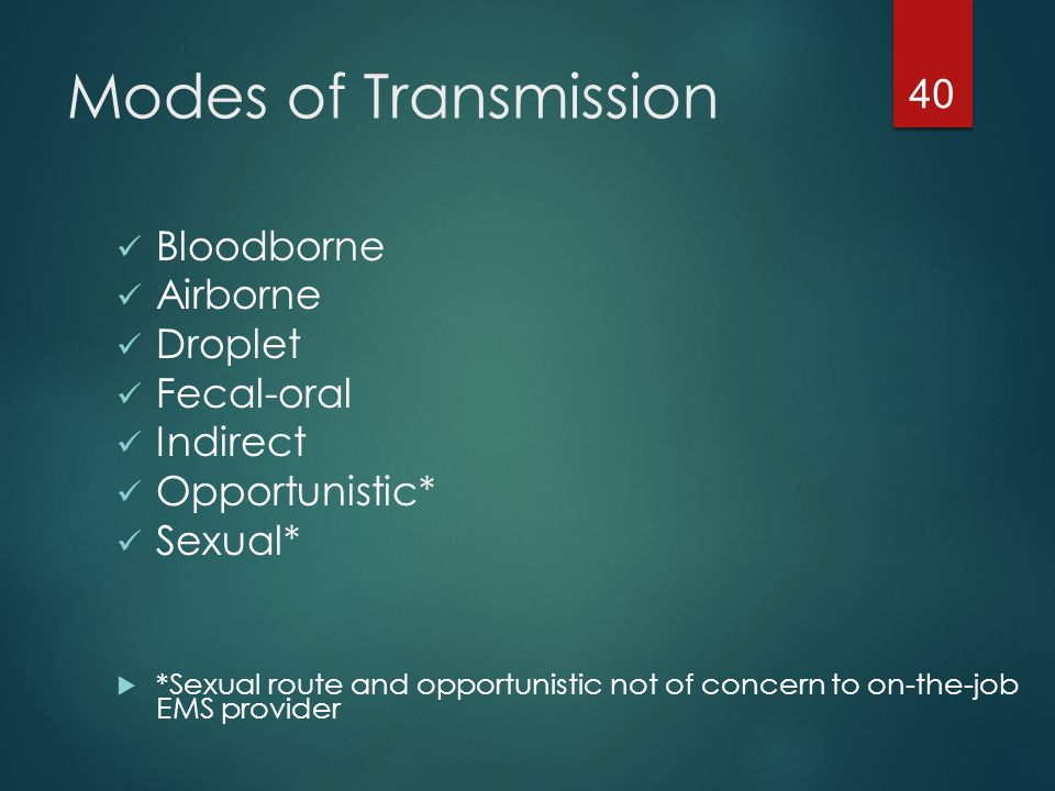 5 types of mode of transmission-8659