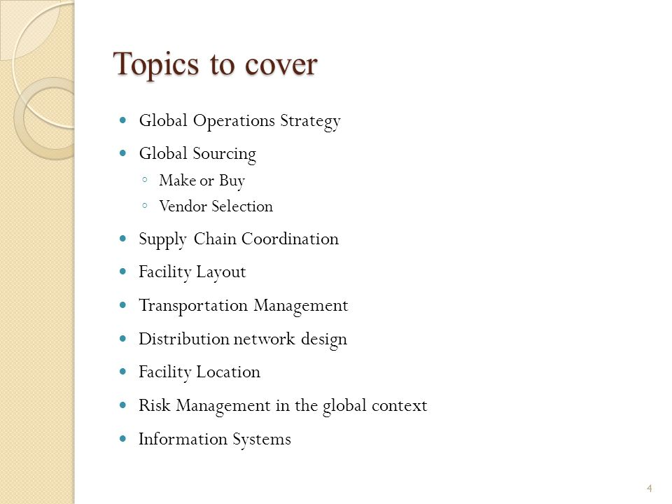 International Operations Management - ppt download