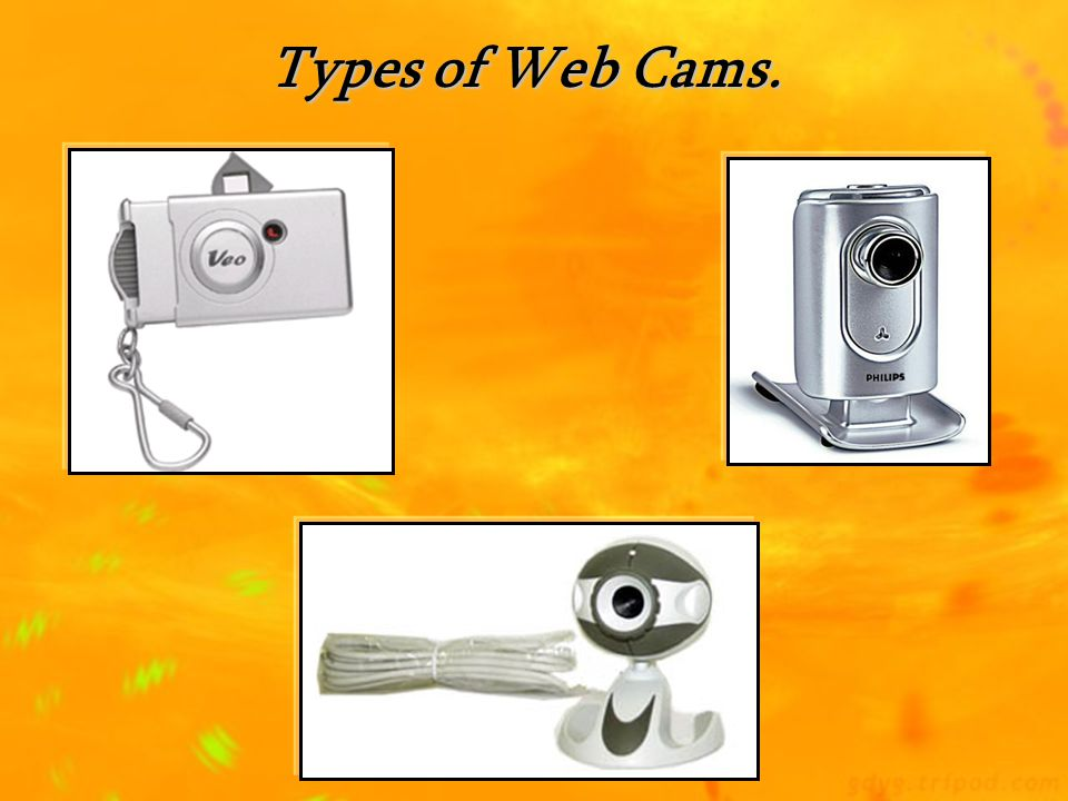 Types of Web Cams.