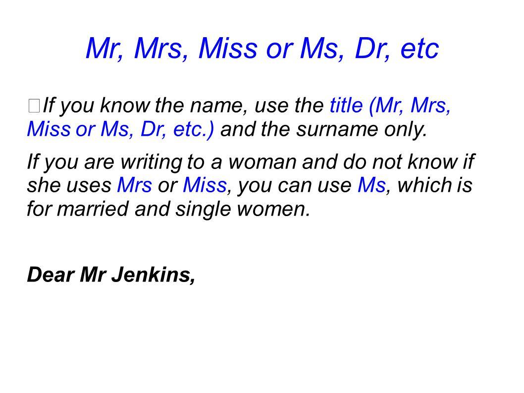 Mr And Mrs Letter Ending