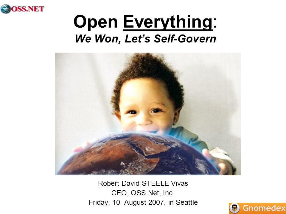 Open Everything: We Won, Let's Self-Govern