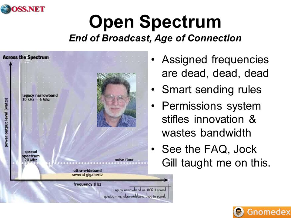 Open Spectrum End of Broadcast, Age of Connection
