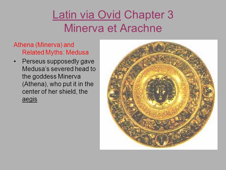 minerva and arachne myth