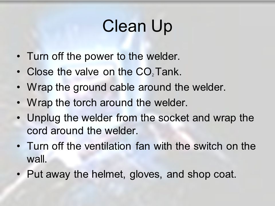 MIG Welding By: Jared McCombs and Vinnie DiBlasi - ppt video