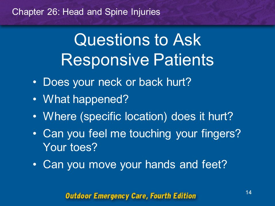 Questions to Ask Responsive Patients