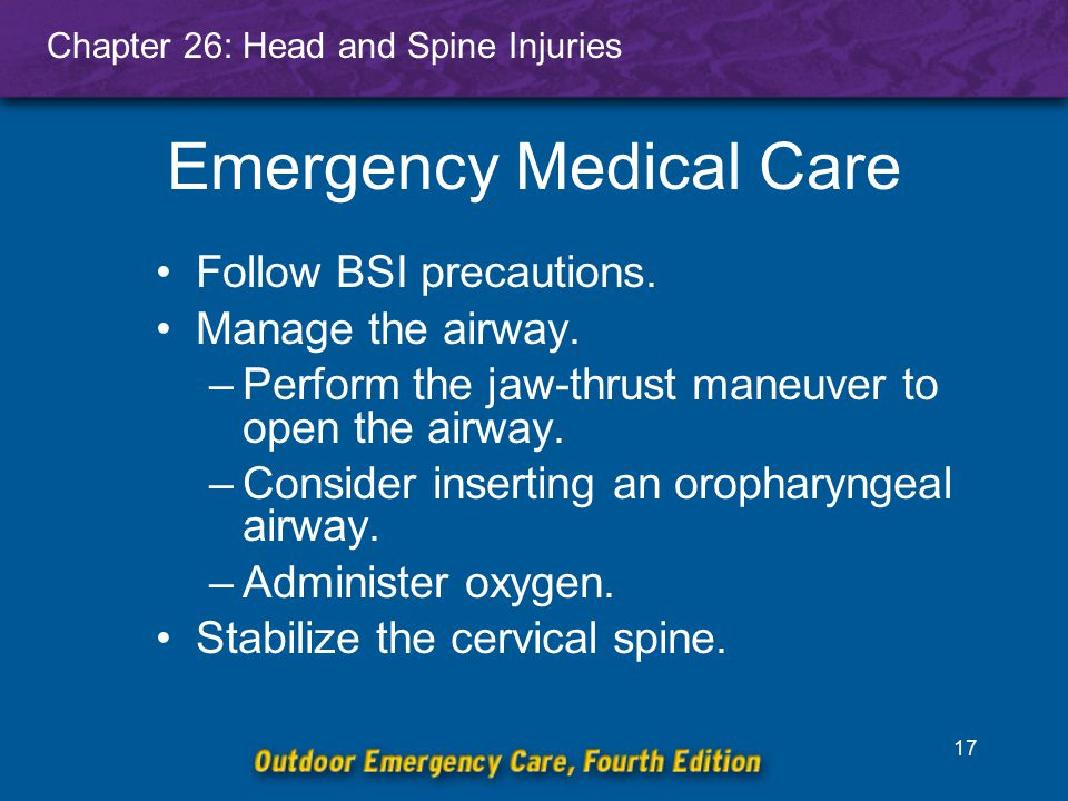 Emergency Medical Care