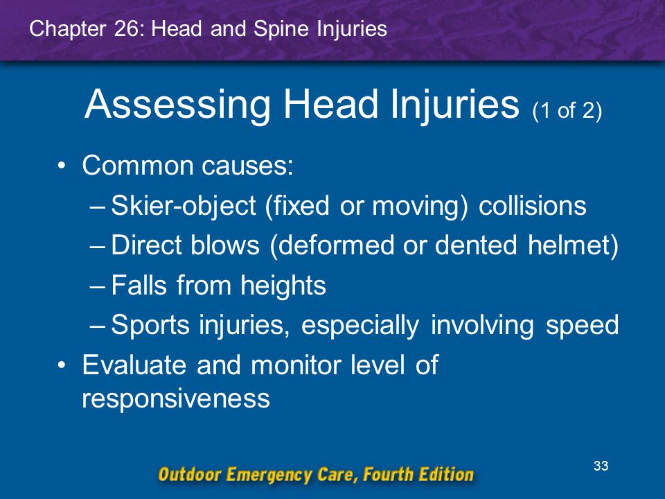 Assessing Head Injuries (1 of 2)