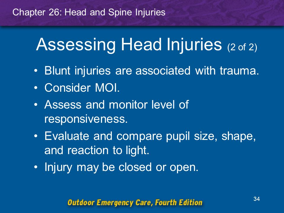 Assessing Head Injuries (2 of 2)