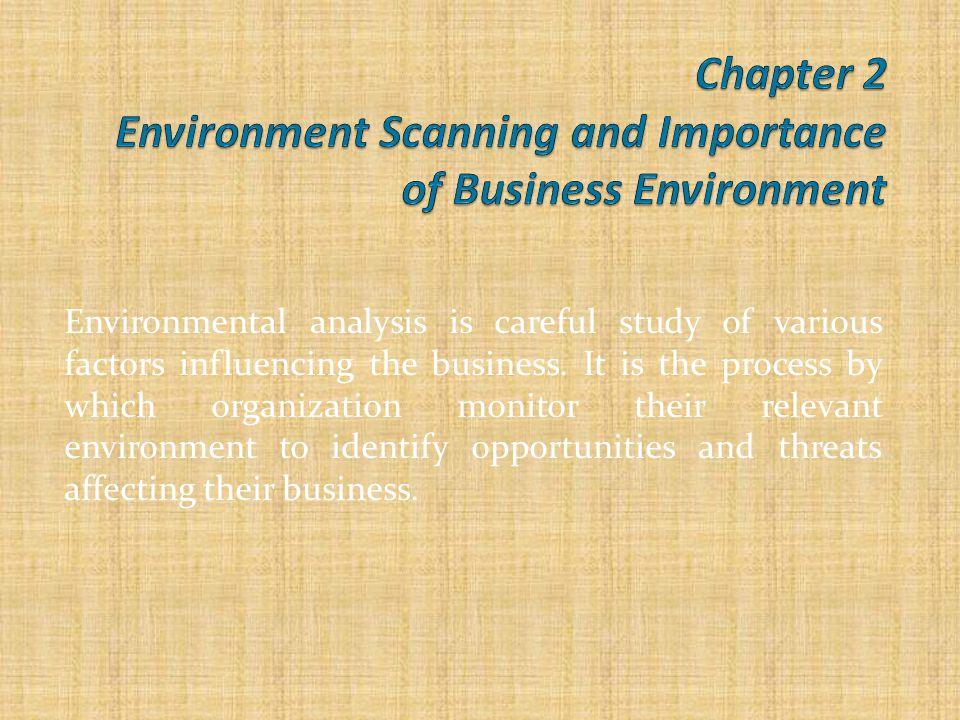 environmental scan marketing example