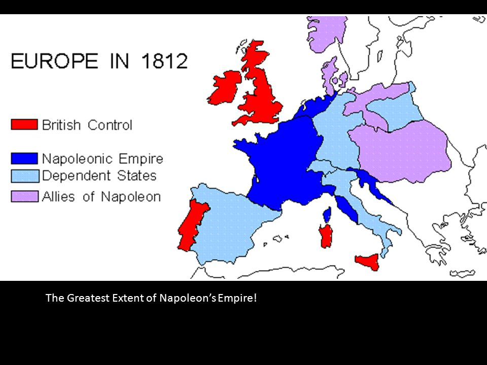 Image result for Extent of Napoleon's empire