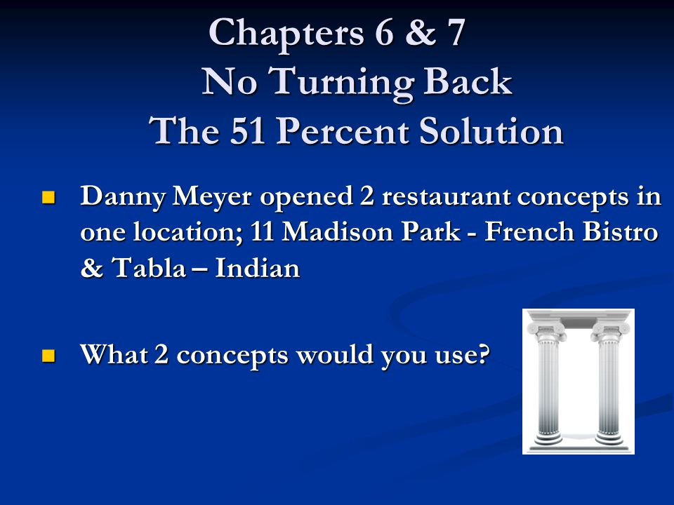 Chapters 6 7 No Turning Back The 51 Percent Solution