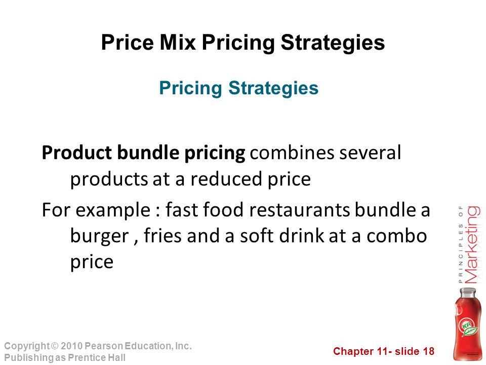 product mix pricing strategies pdf